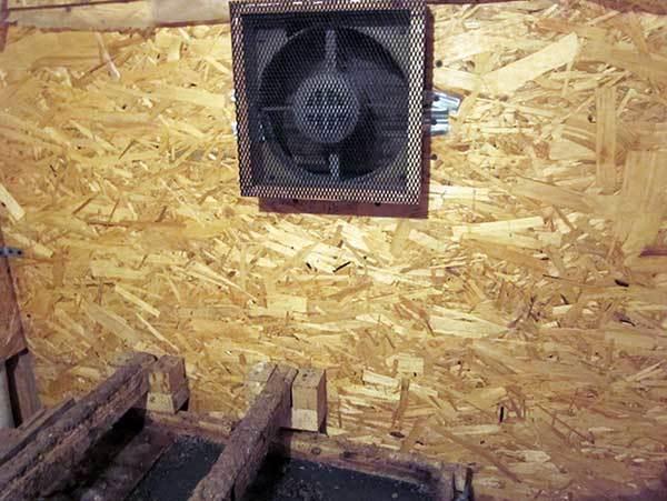 Вентиляция в курятнике зимой своими руками: обзор лучших схем и нюансов обустройства