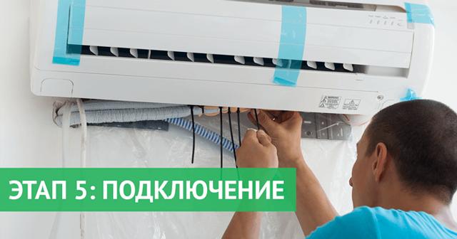 Установка кондиционера своими руками: подробный инструктаж по монтажу наружного и внутреннего блока и разбор нюансов установки