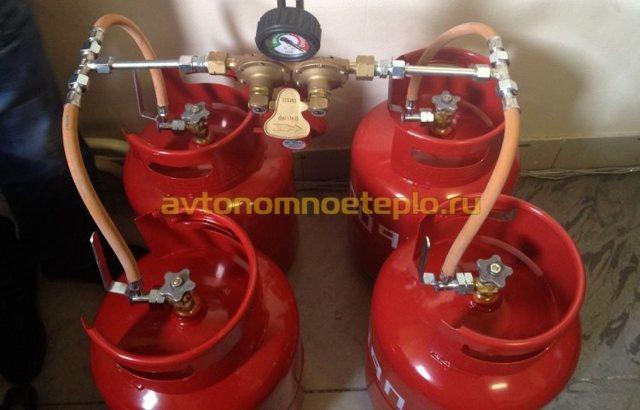 Перевод котла на сжиженный газ: переделка и перенастройка котла под баллонное топливо