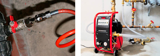 Продувка труб на даче перед зимой: пошаговая инструкция, способы, необходимость, область применения, компрессоры, плюсы и минусы