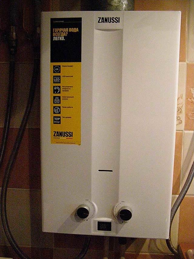 Слабый напор горячей воды из газовой колонки: обзор причин и инструкция по прочистке