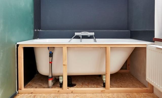 Экран под ванну своими руками: как сделать и установить самому