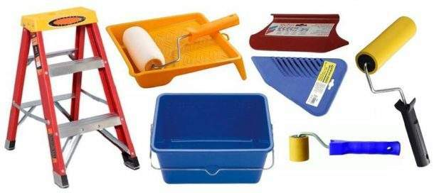 Как клеить виниловые обои: выбор клея, инструменты и приспособления, подготовительные работы, процедура поклейки, период высыхания