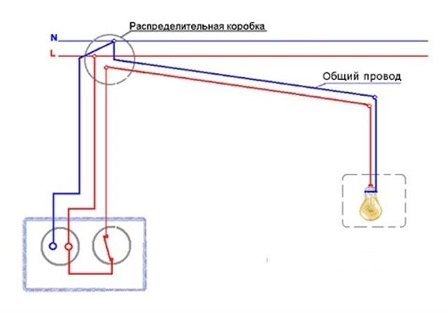 Розетка с выключателем в одном корпусе: схемы и как правильно подключить