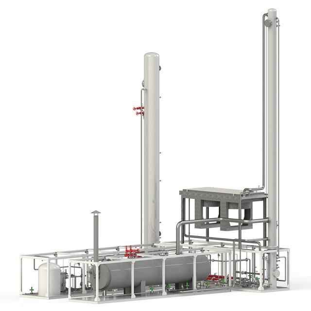 Аминовая очистка газа от сероводорода: схема установки и принцип действия