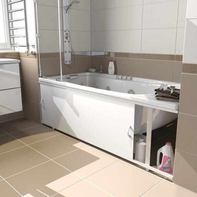 Как сделать зеркальный экран под ванну: дельное руководство