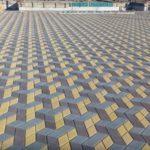Вибропрессованная тротуарная плитка: уникальность, характеристики, современные методы производства, экологические показатели
