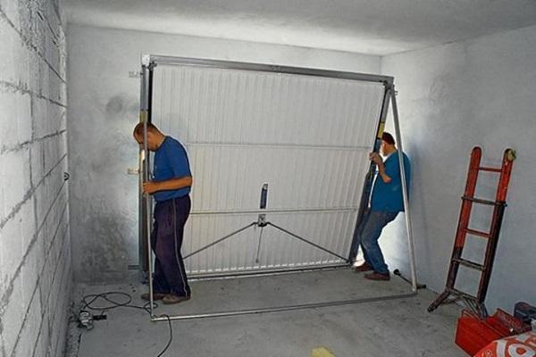 Как сделать гаражные ворота подъемные своими руками: схемы и пошаговые инструкции