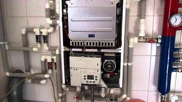 Монтаж газовых котлов baxi: схема подключения и инструкция для настройки